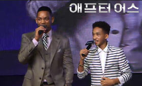 After Earth Movie Promotion